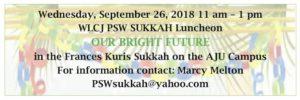Sukkah Luncheon RSVP