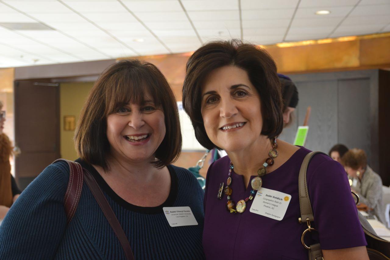 Rabbi Cheryl Peretz & Debbie Goldich