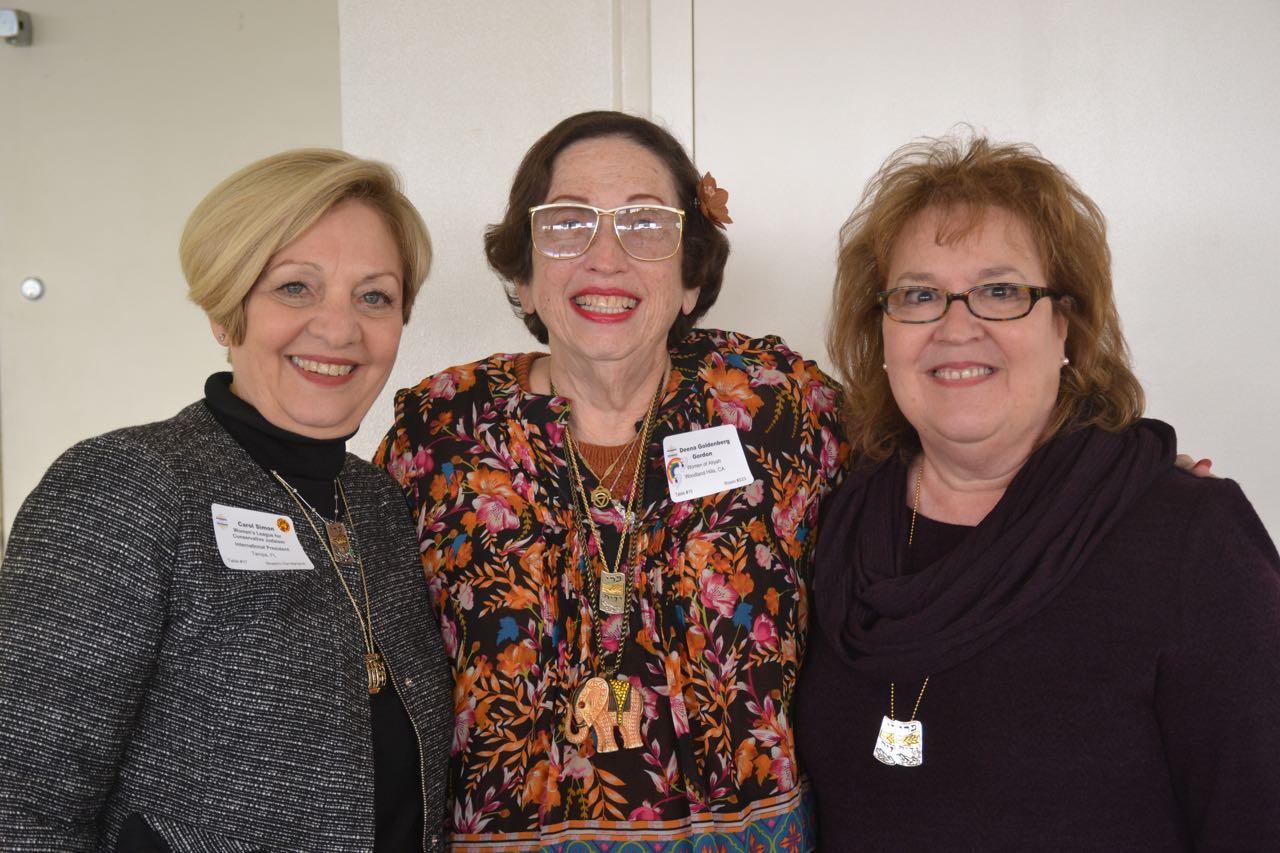 Carol Simon, Deena Gordon, Barbara Safer