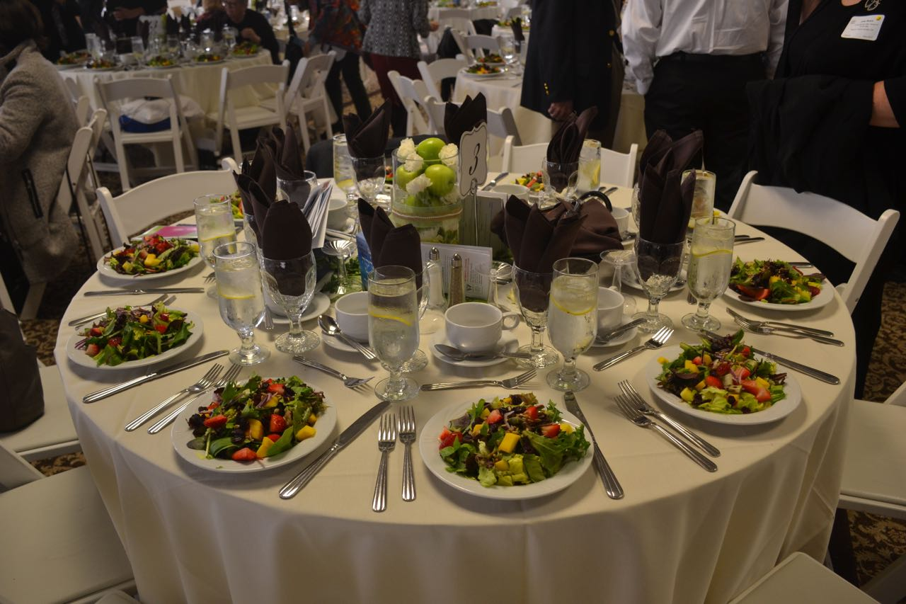 Table Setting for Luncheon