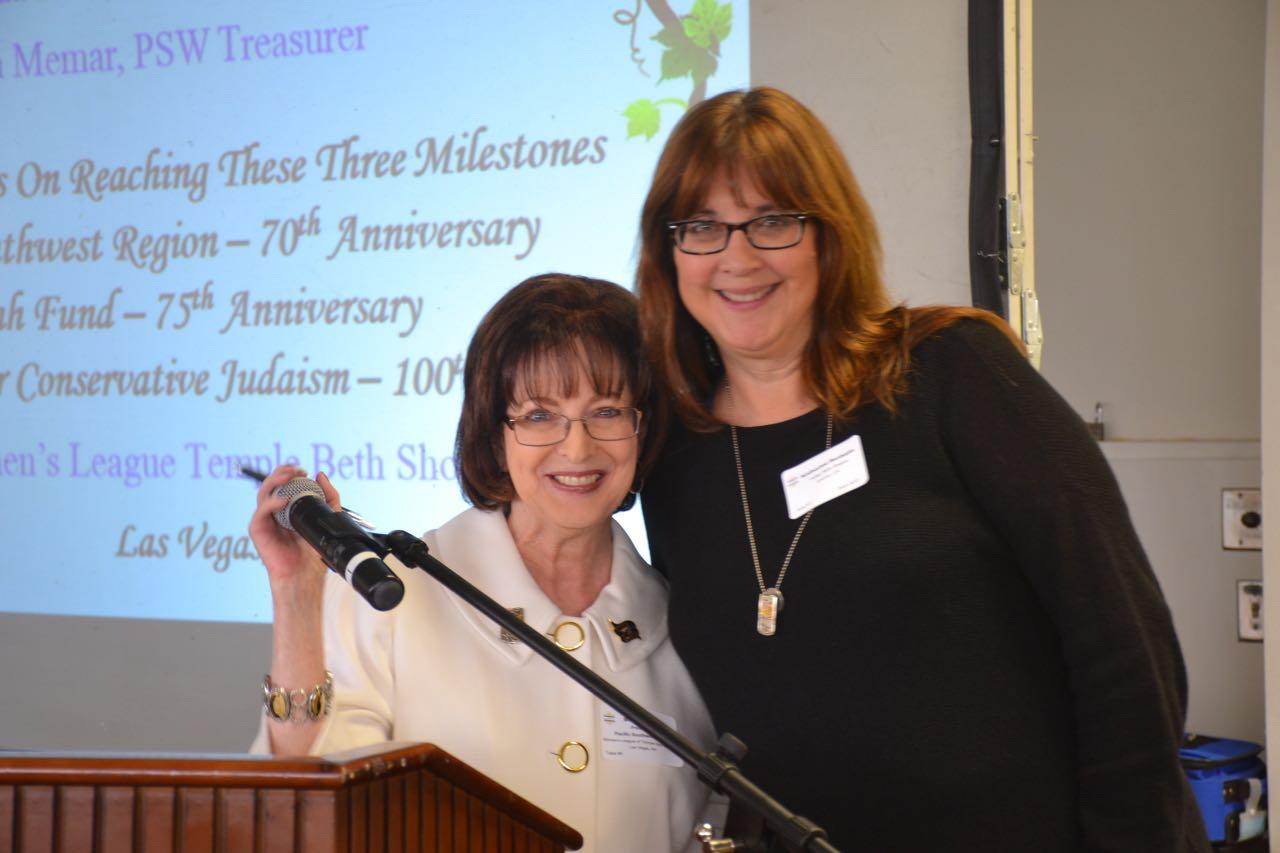 Brenda Katz & Kathy Benheim