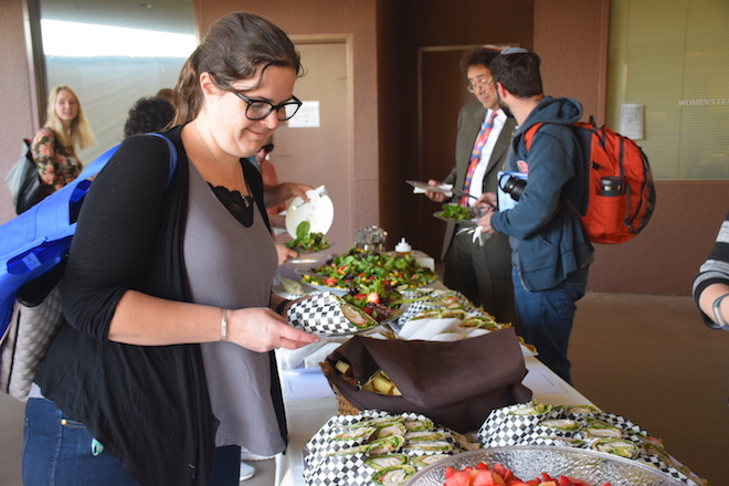 Rabbinic Students join us for lunch