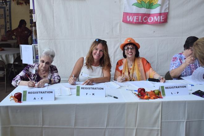 Judy, Lisa, Deena, (& Gina's right arm)